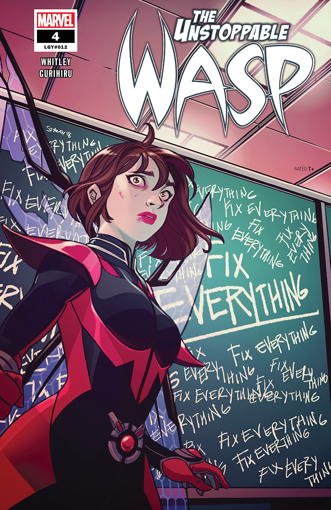 Unstoppable Wasp #4 Cover