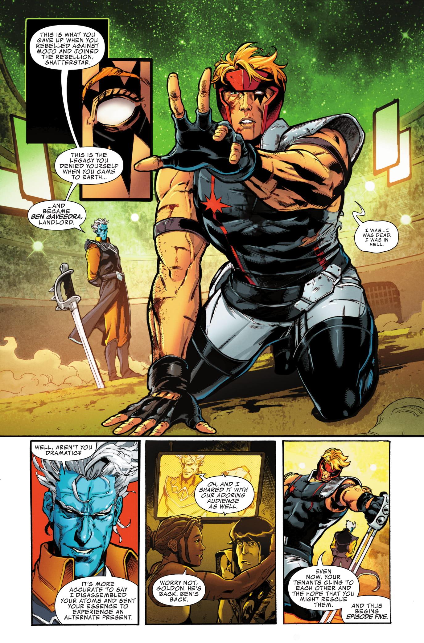 Shatterstar #5 page 4