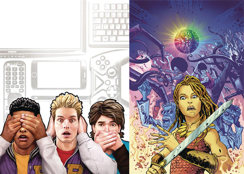 INTERVIEW: AHOY Comics New Boogie and What The Revenge of The Nerds Looks Like In Comics