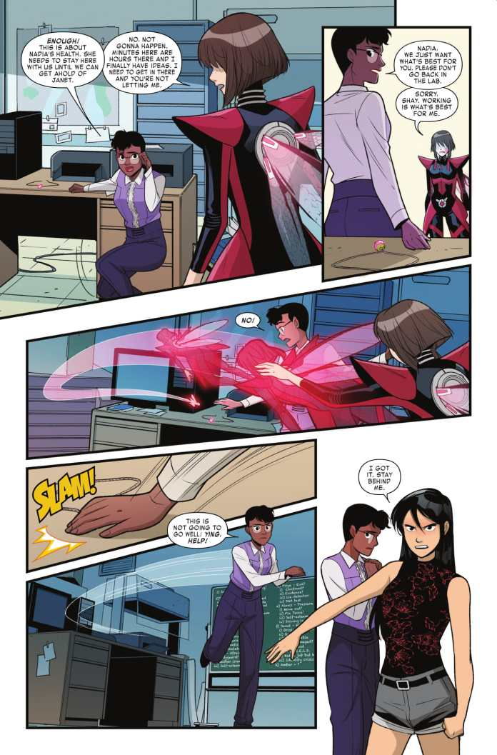 Unstoppable Wasp #5 page 2
