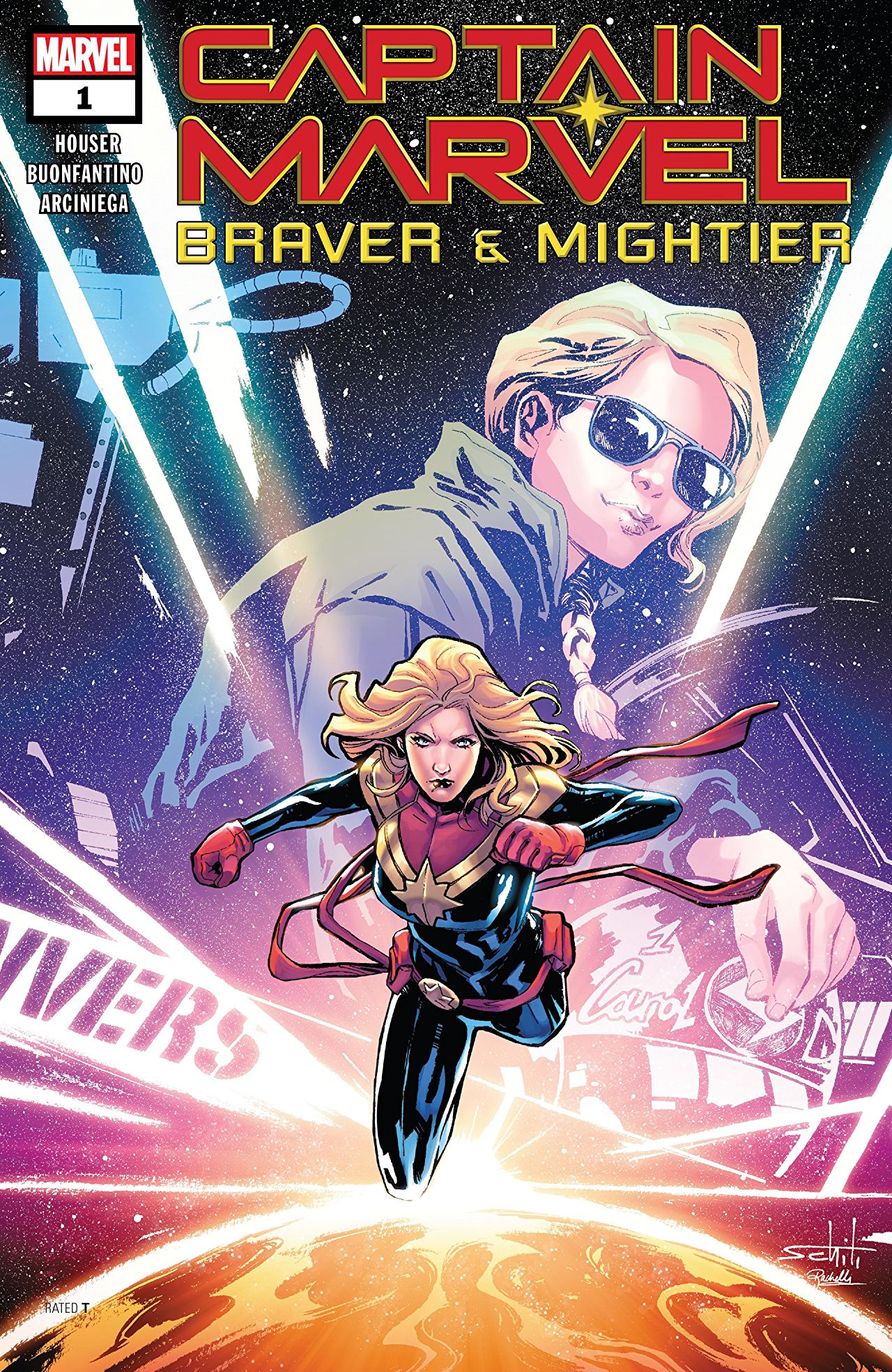 Captain Marvel: Braver & Mightier cover