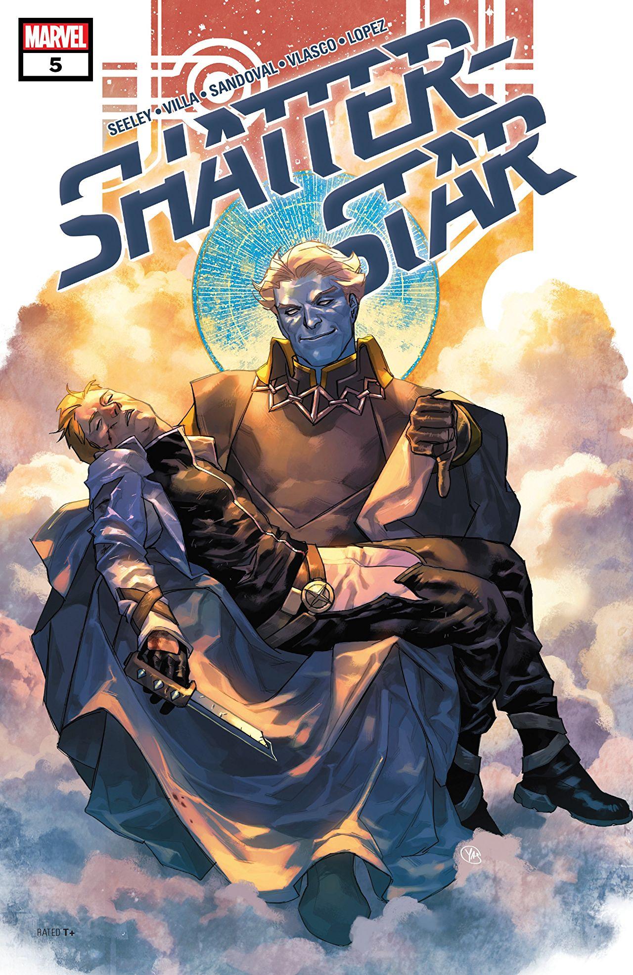 Shatterstar #5 cover