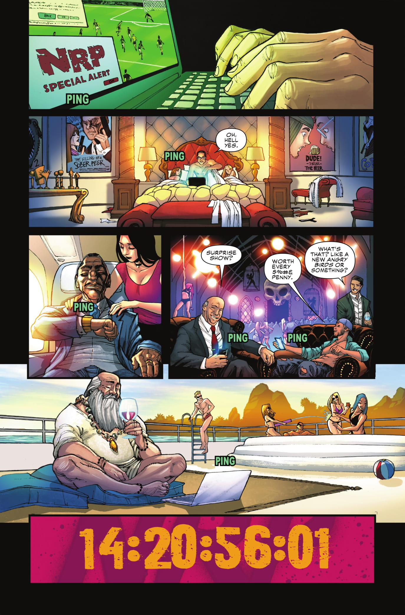 Black Widow #3 page 1
