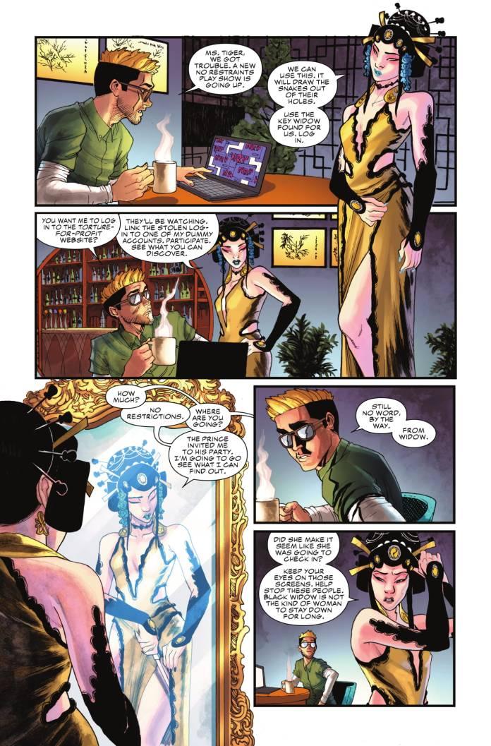 Black Widow #3 page 2