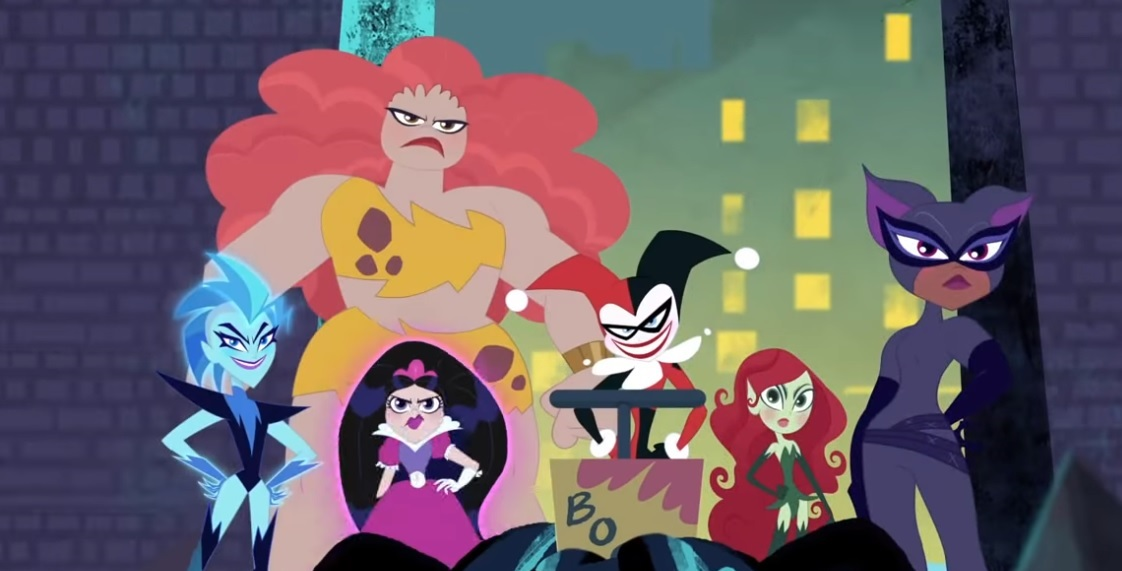 DC SUPER HERO GIRLS Episode Descriptions and Villain Voices