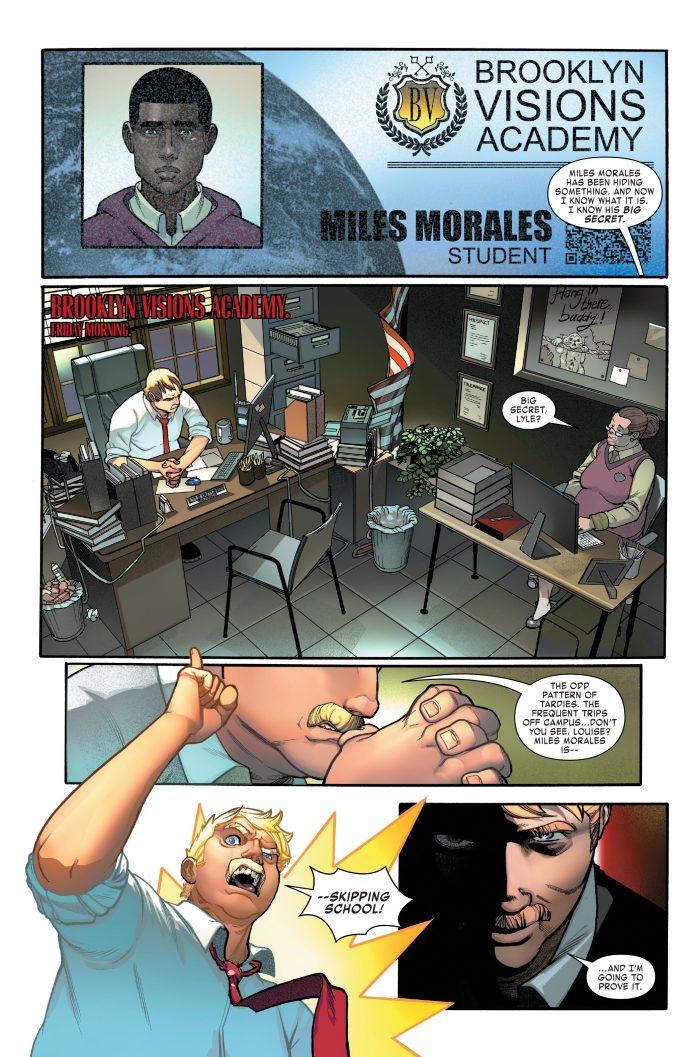 Miles Morales: Spider-Man #4 page 1