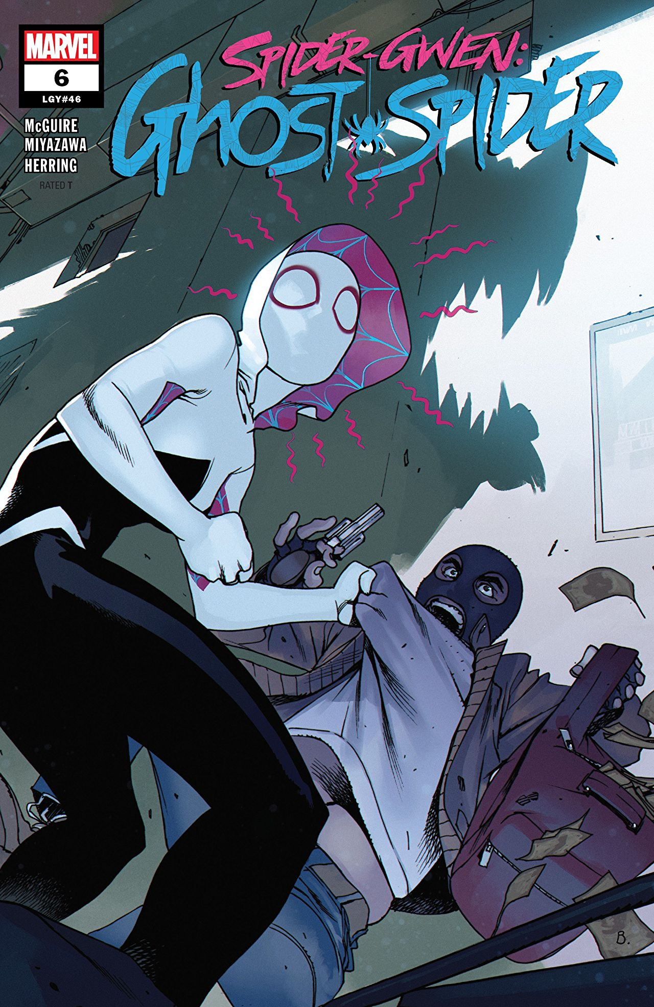 Spider-Gwen: Ghost-Spider #6 cover by Bengal