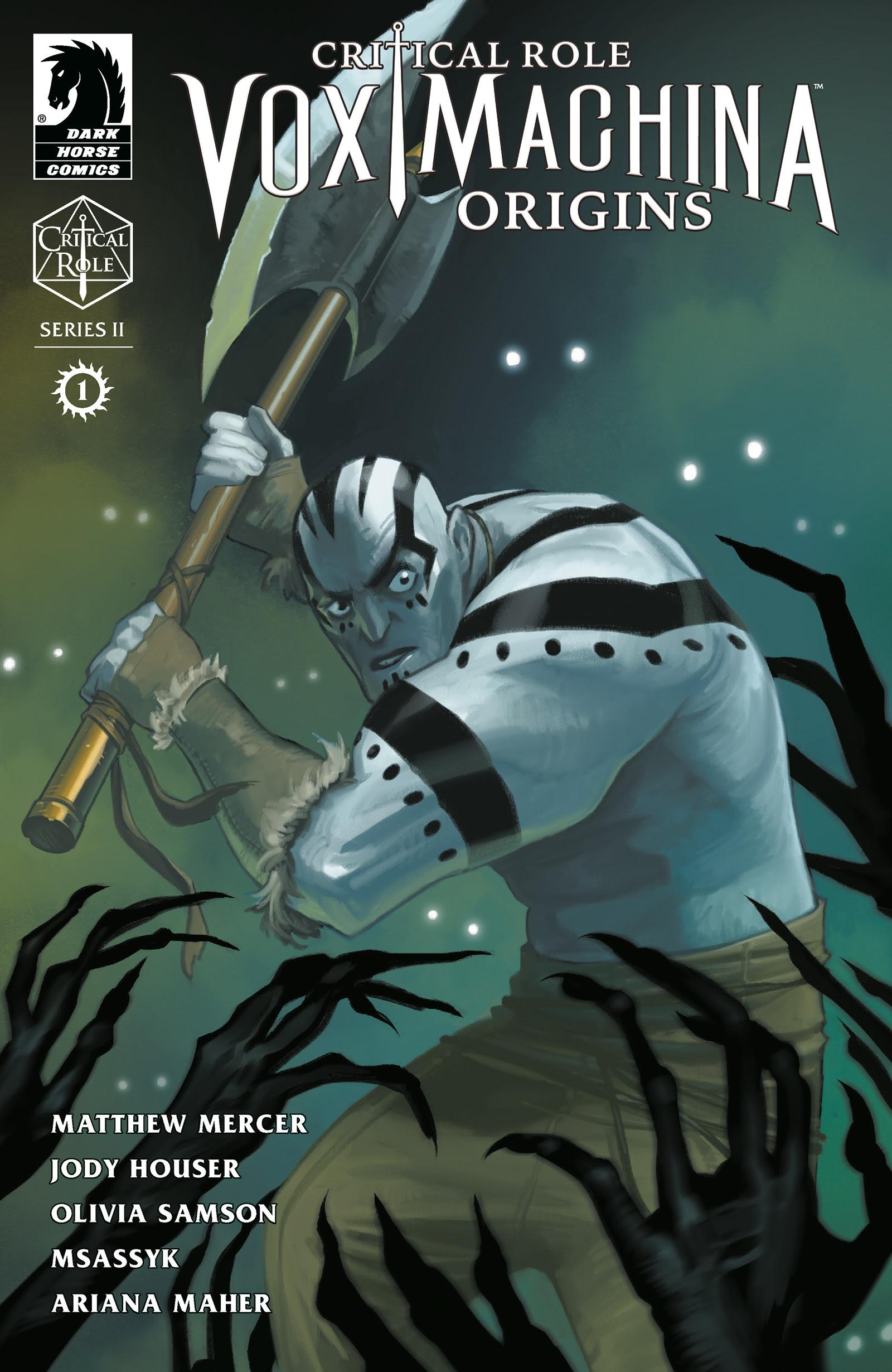 Critical Role: Vox Machine Origins Series II #1 cover