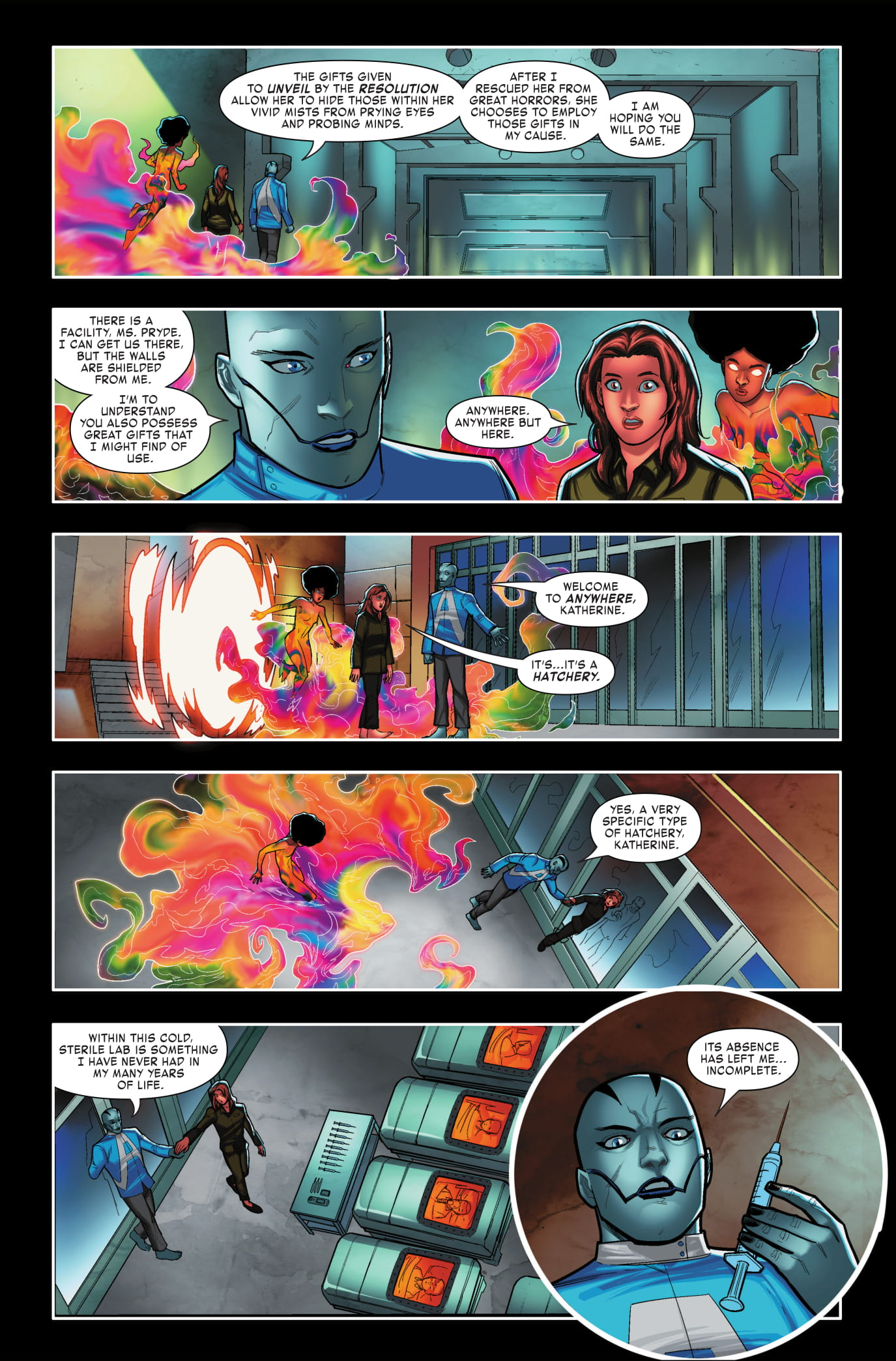 Age of X-Man: Apocalypse & The X-Tracts #2 page 3