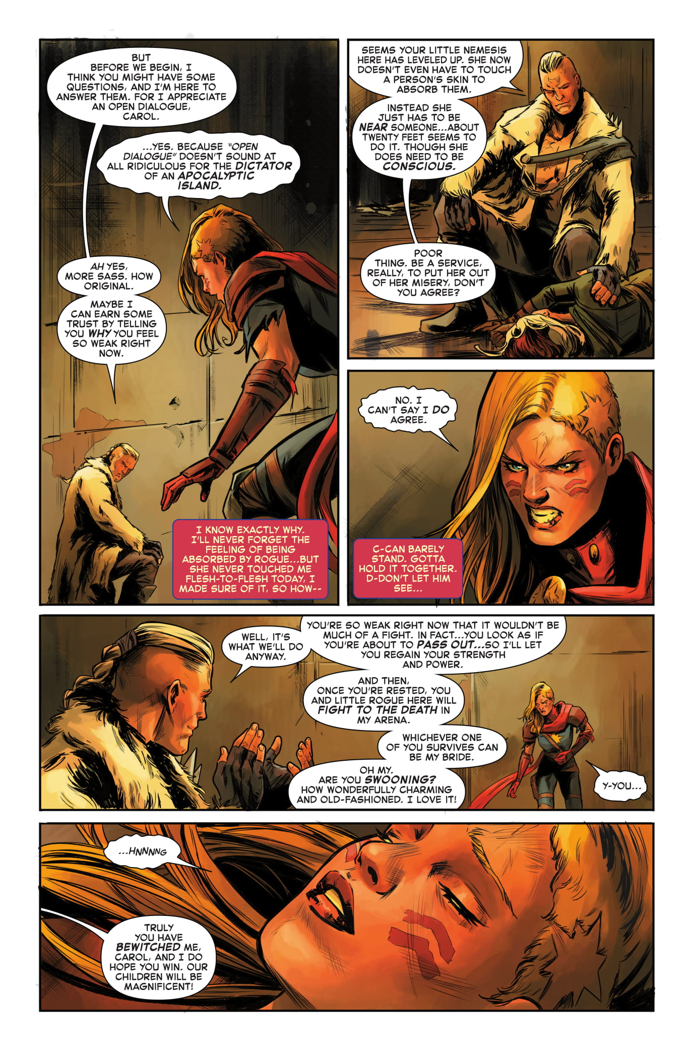 Captain Marvel #4 page 5
