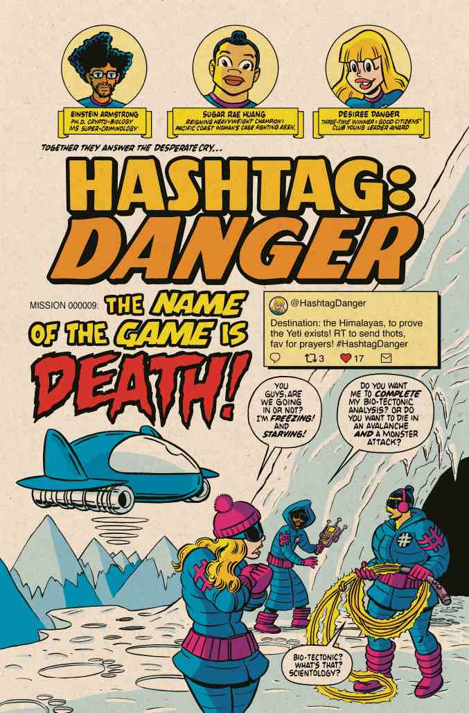 Hashtag Danger #1 p1
