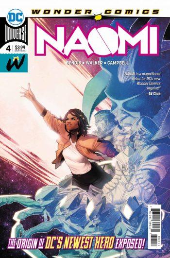 NAOMI #4 cover