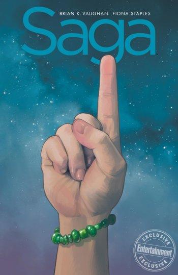 Saga comic compendium one cover