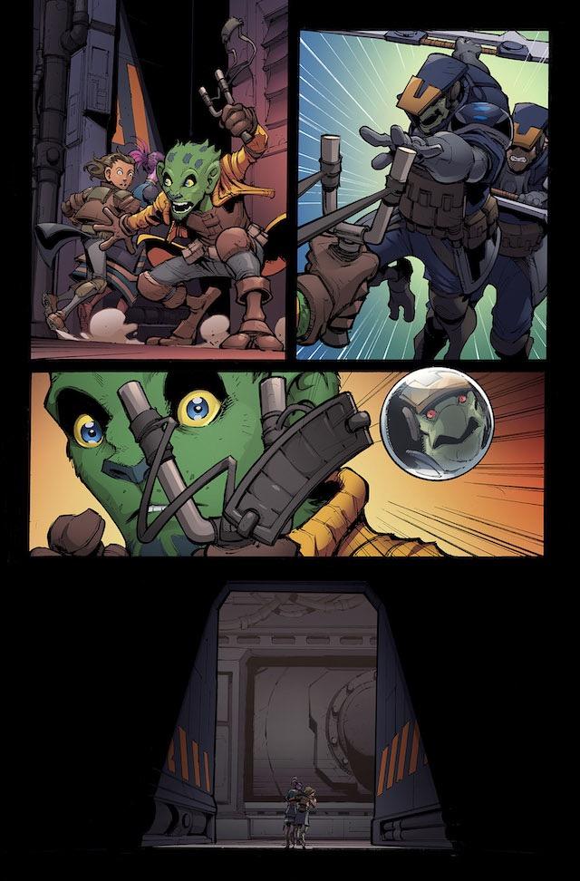 Stone Star YA Comic Page