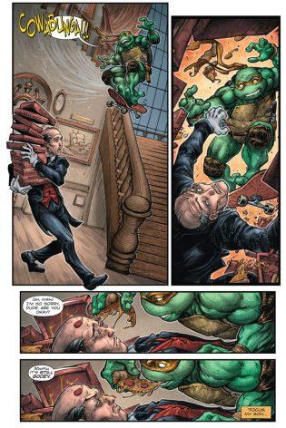 Batman vs. TMNT Mikey Alfred