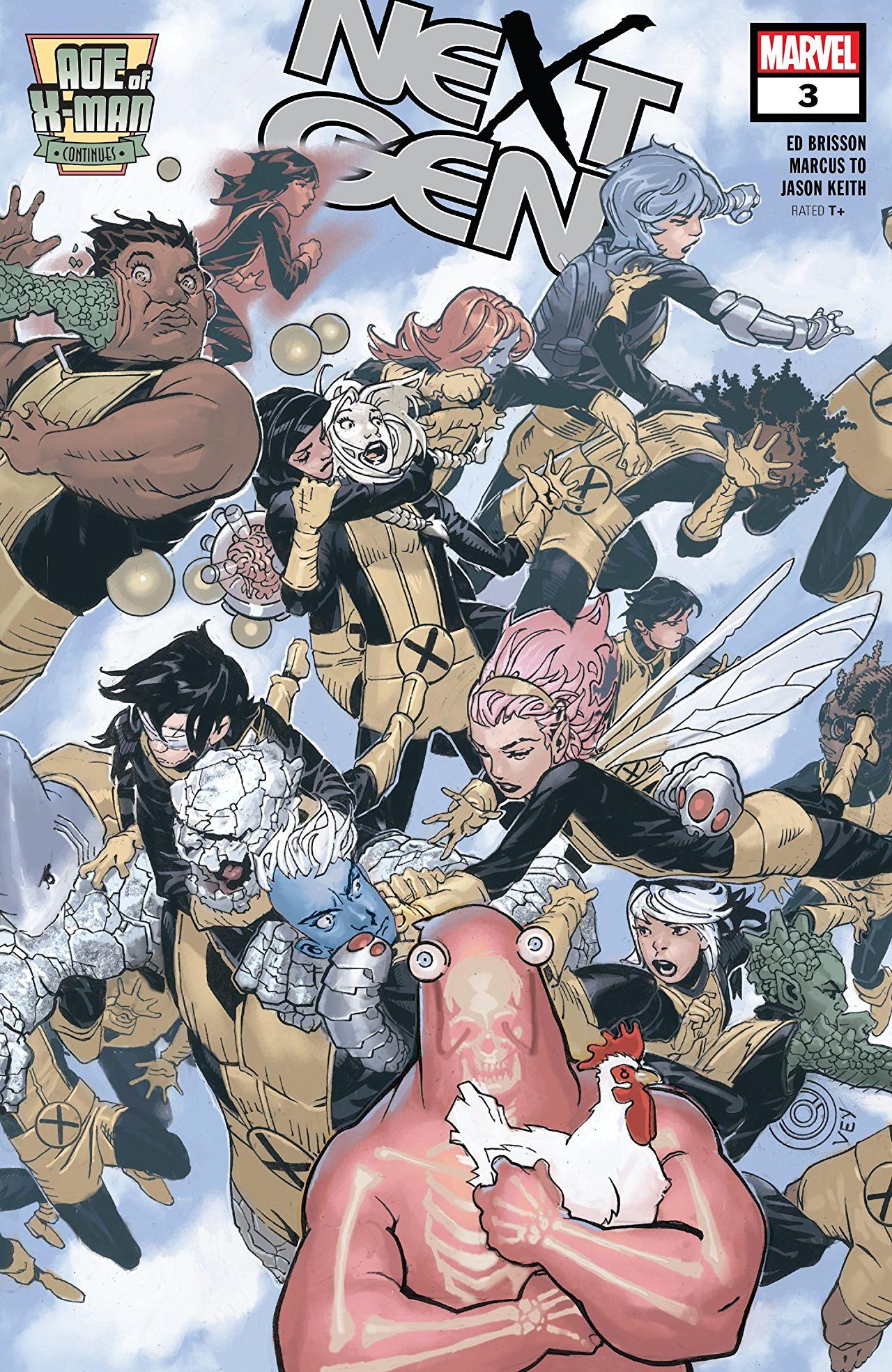 Age of X-Man: NextGen #3 cover