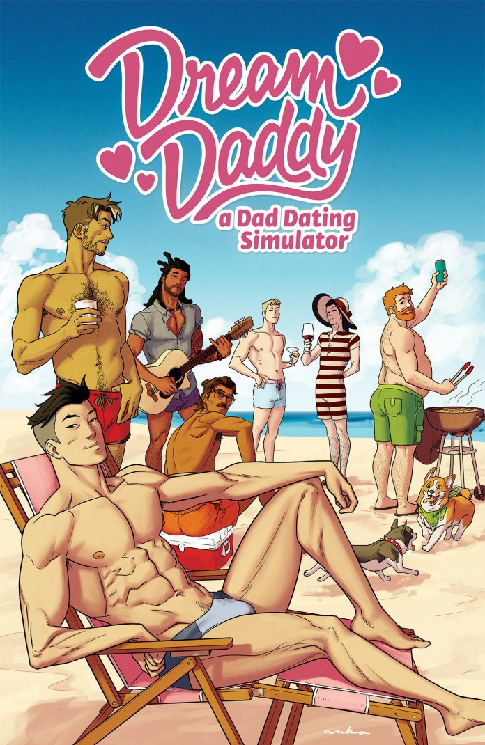 Dream Daddy TPB cover 2