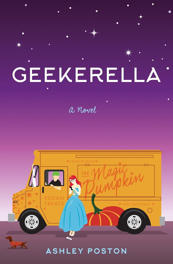 10 Geeky Books to Help Relieve Con Season FOMO: Geekerella by Ashley Poston