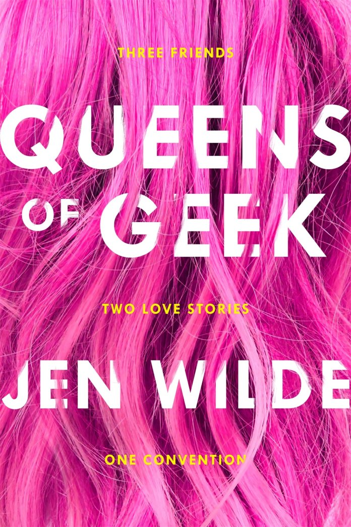 10 Geeky Books to Help Relieve Con Season FOMO: Queens of Geek by Jen Wilde