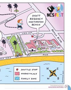 Venue map, part one
