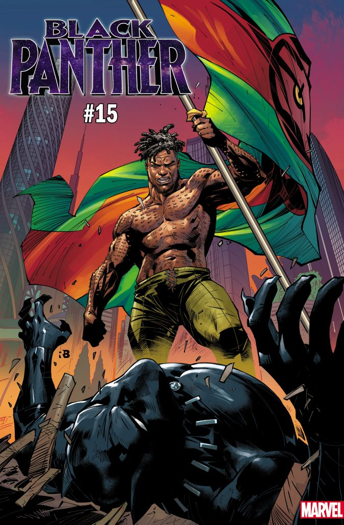 Black Panther #15 Variant Cover