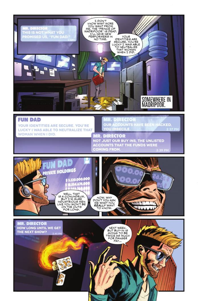 Black Widow #5 page 1