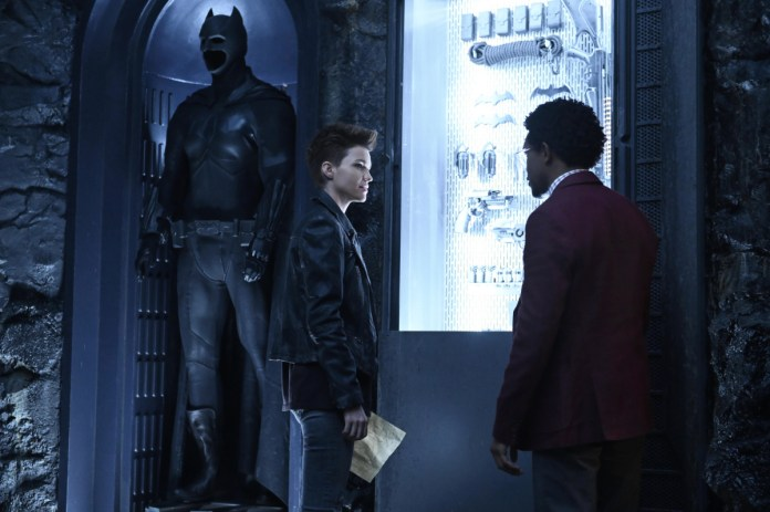 Ruby Rose and Camrus Johnson as Kate Kane and Luke Fox on The CW's Batwoman
