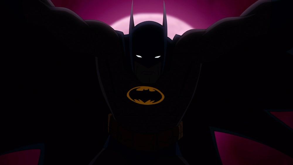 Batman vs. TMNT opening silhouette