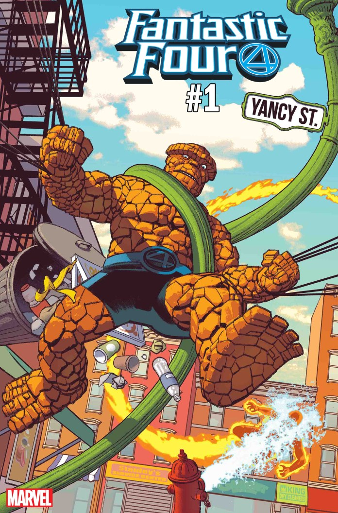Fantastic Four: Yancy Street #1 cover