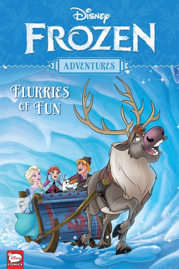 Disney Frozen Adventures: Flurries of Fun GN