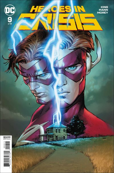 Heroes in Crisis #9 cover
