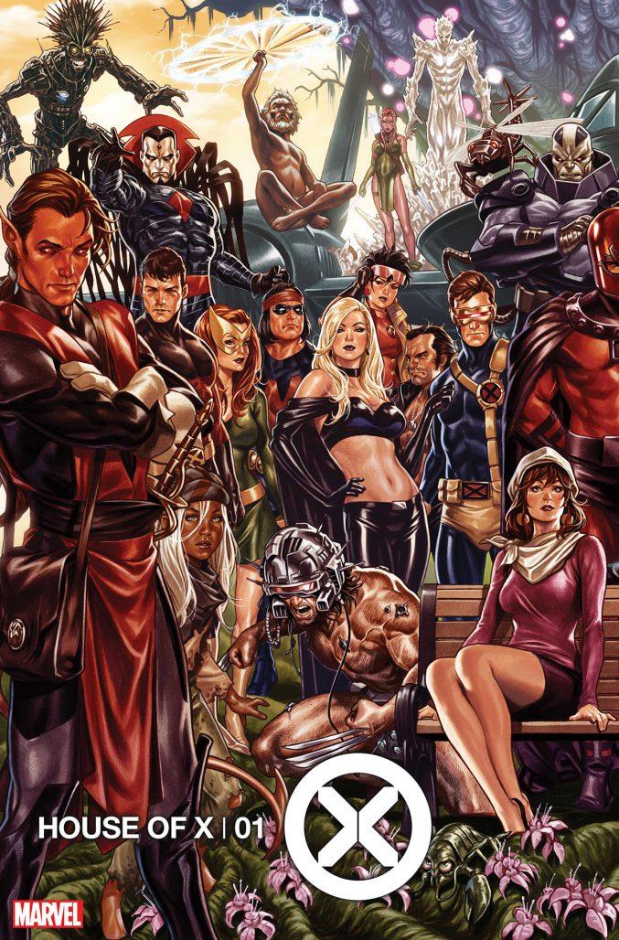 House of X #1 Mark Brooks Variant