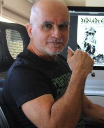 Berserker artist Mike Deodato, Jr.