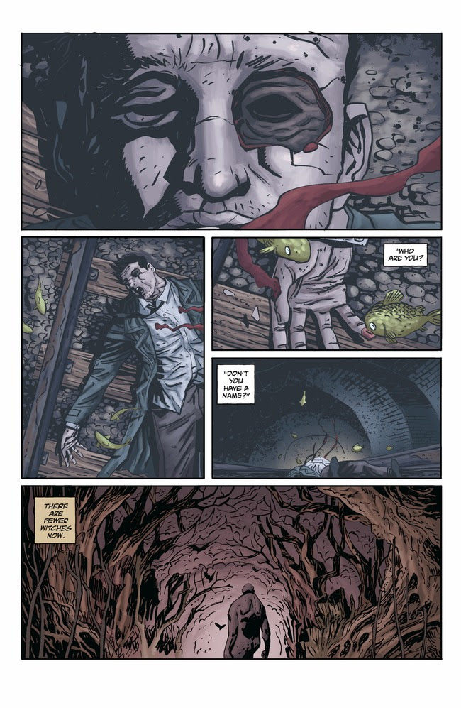 Joe Golem: Occult Detective - The Conjurors #1 Page 1