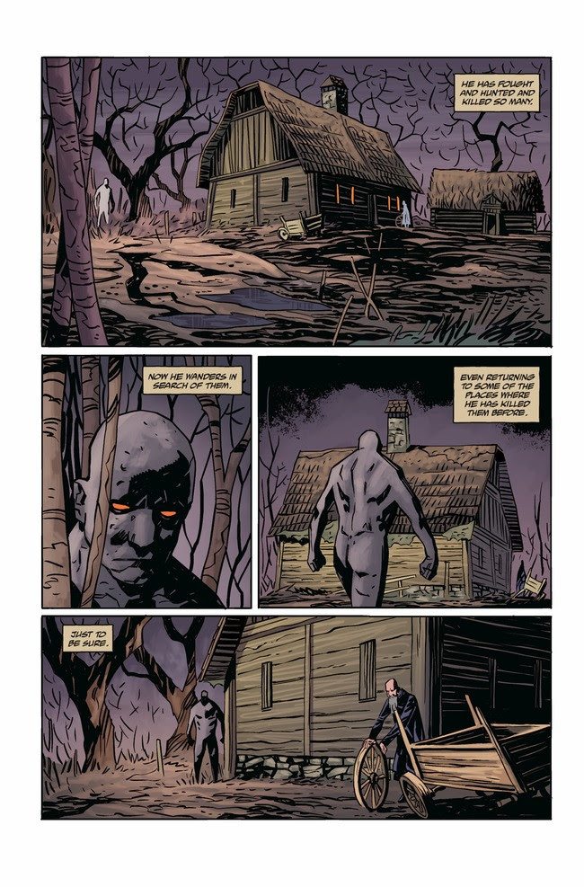 Joe Golem: Occult Detective - The Conjurors #1 Page 2