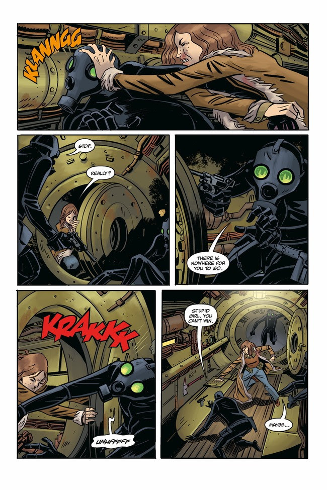 Joe Golem: Occult Detective - The Conjurors #1 Page 5