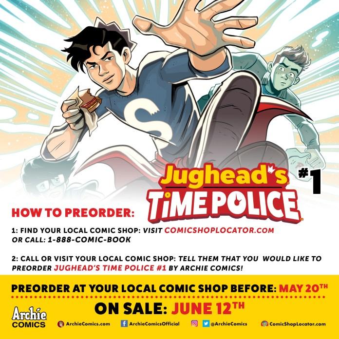 Jughead's Time Police Preorder Info