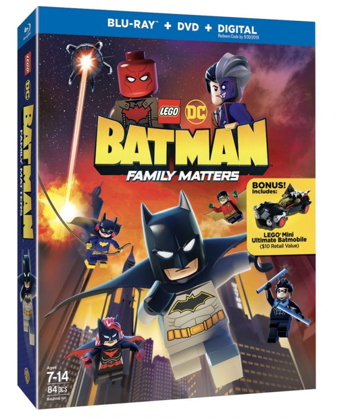 LEGO BATMAN FAMILY MATTERS BLU RAY