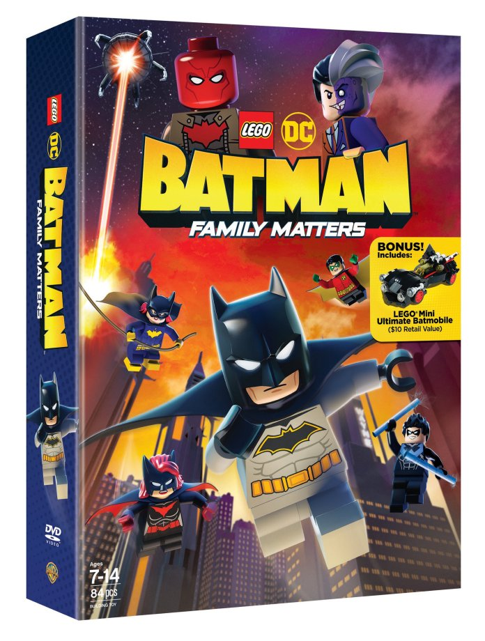 LEGO BATMAN FAMILY MATTERS DVD