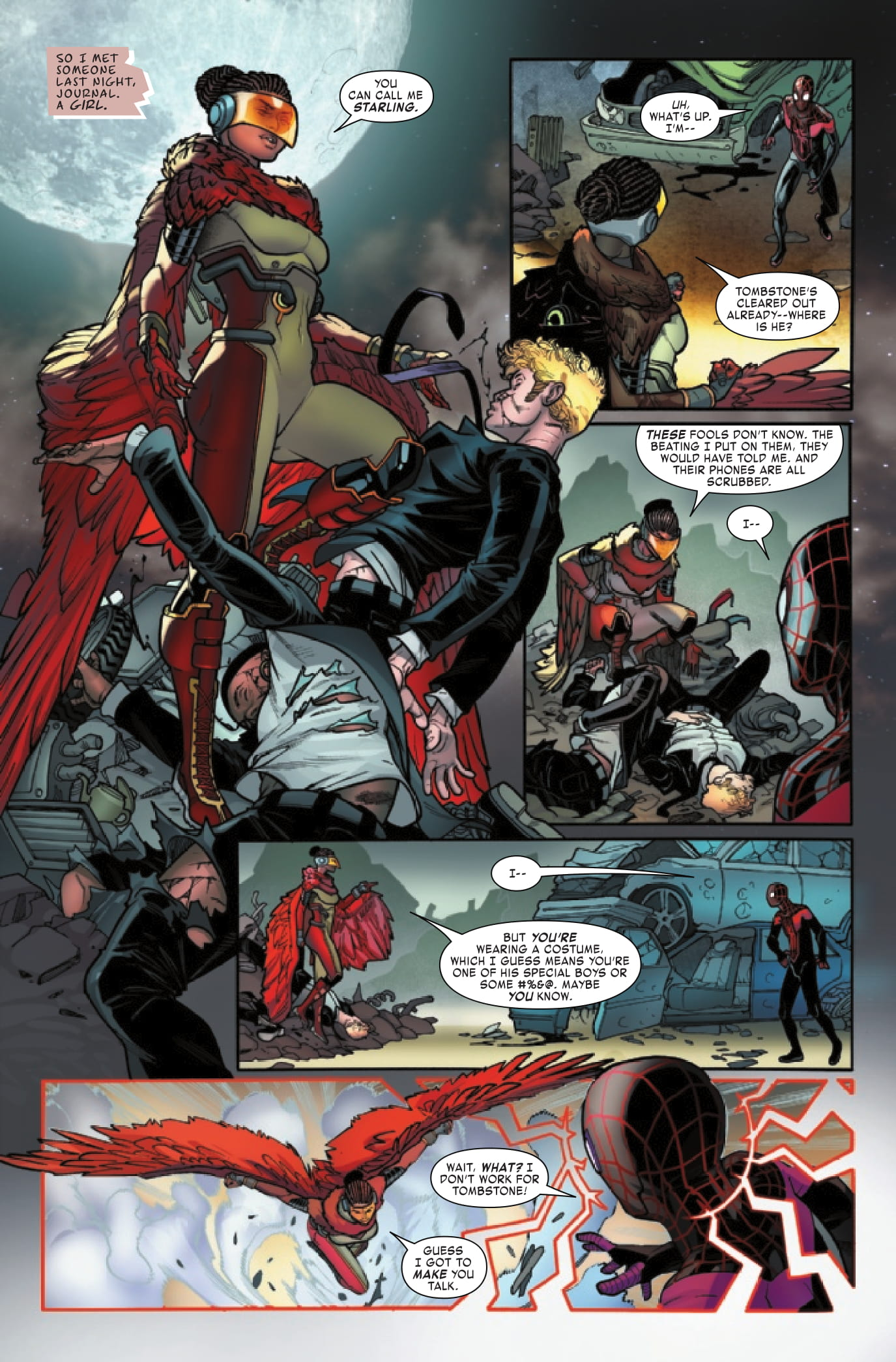 Miles Morales #6 preview page 1