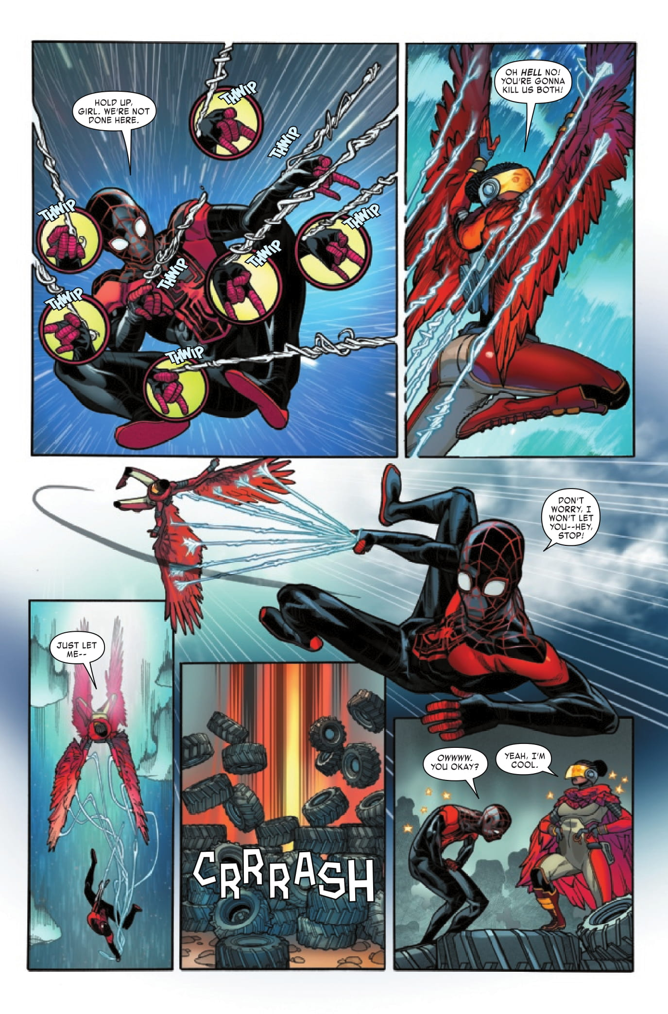 Miles Morales #6 preview page 3