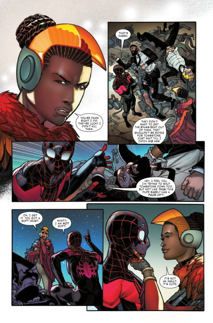 Miles Morales #6 preview page 5