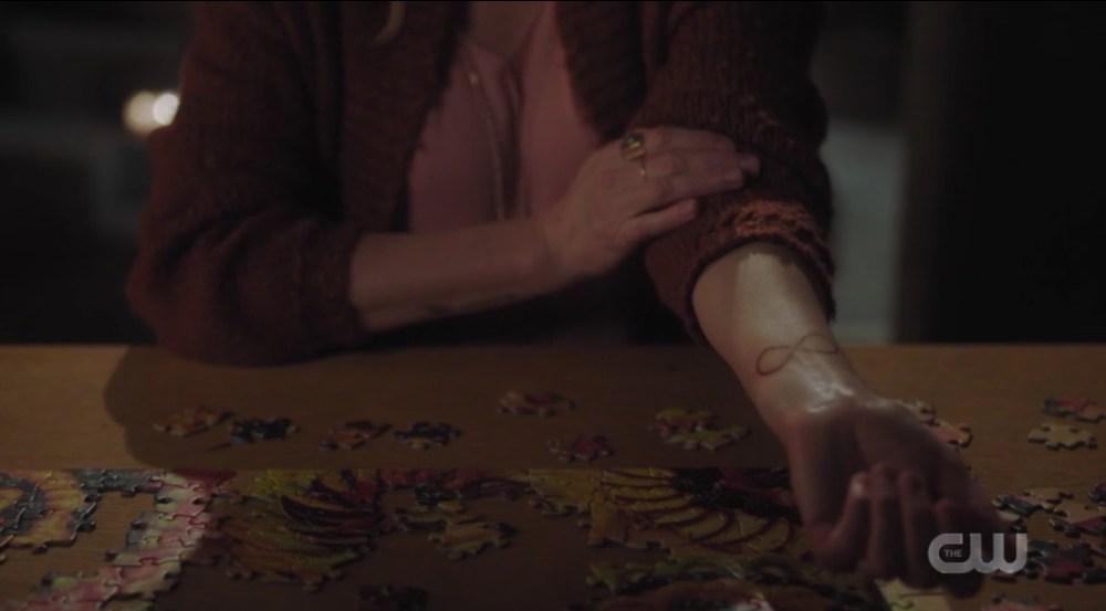 Riverdale Prom Night Alice Cooper's Infinity Tattoo