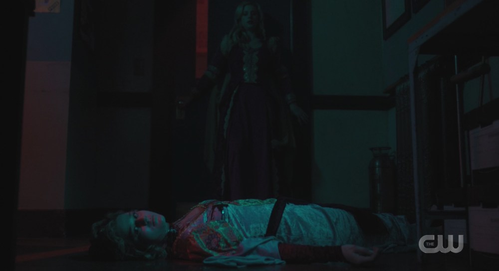 Riverdale Prom Night Betty and a dead Eleanor