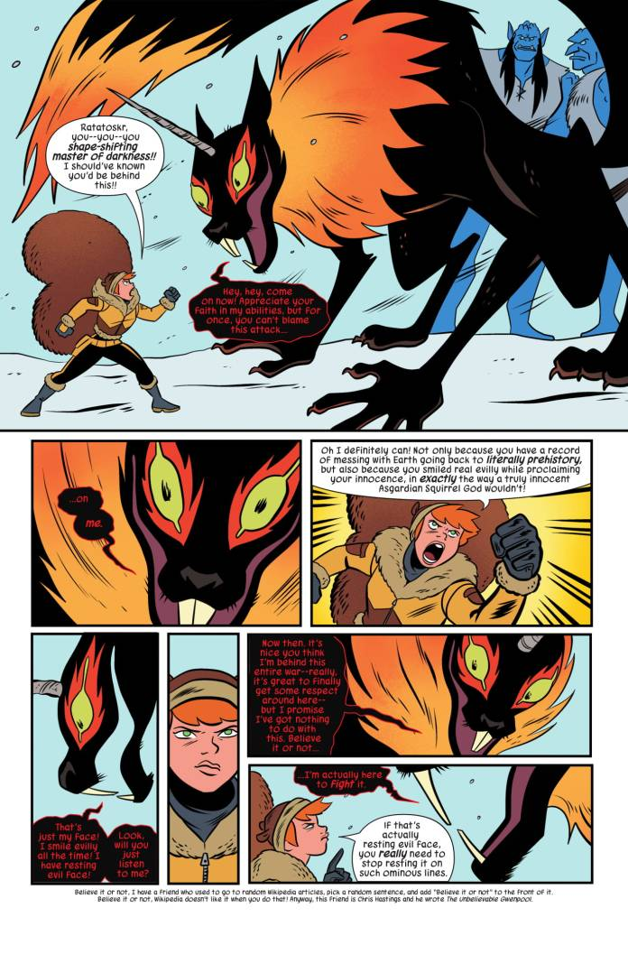 The Unbeatable Squirrel Girl #44 page 1