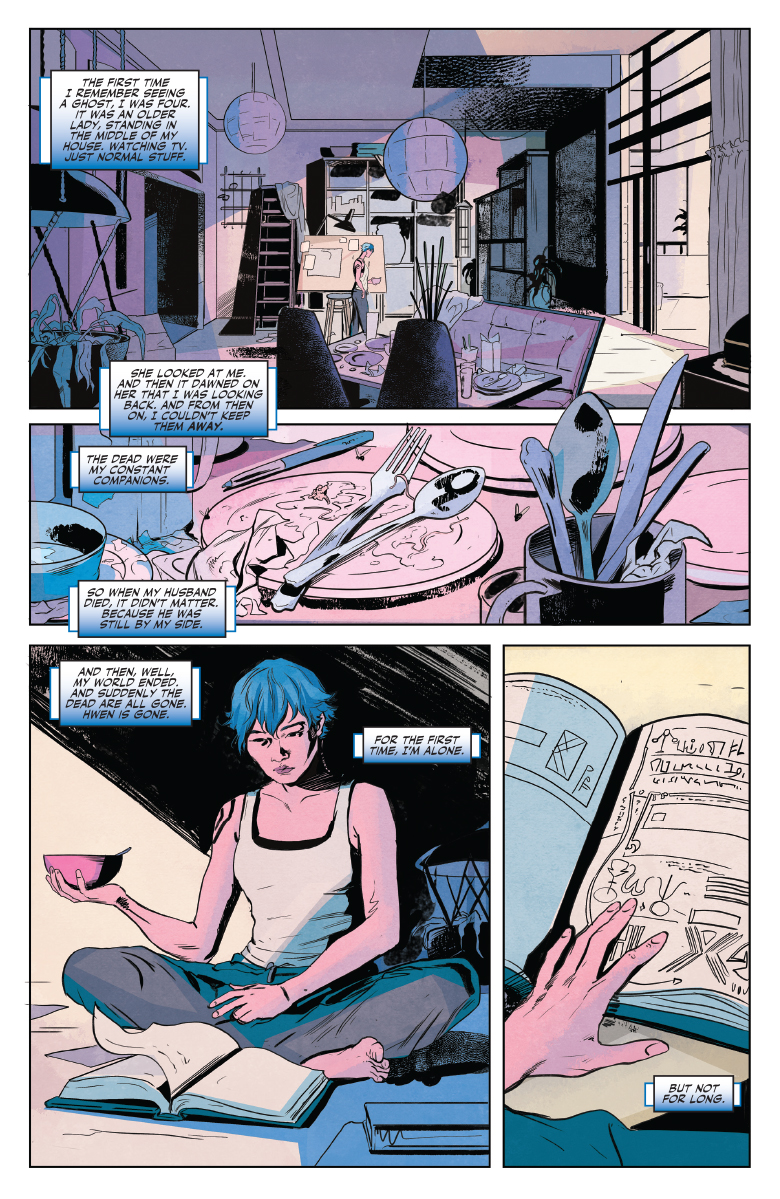 Doctor Mirage #1 preview page 5