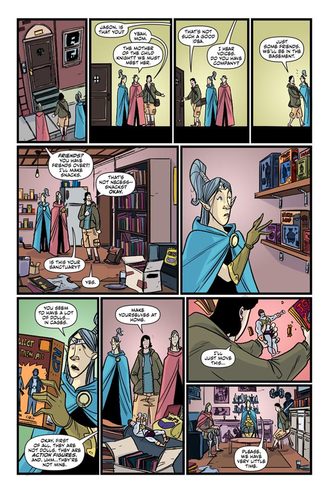 LAFA #2 page 1