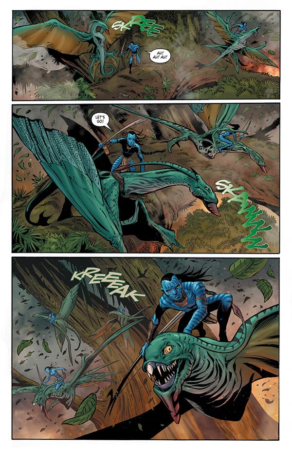 Avatar: Tsu'tey's Path #5 p8