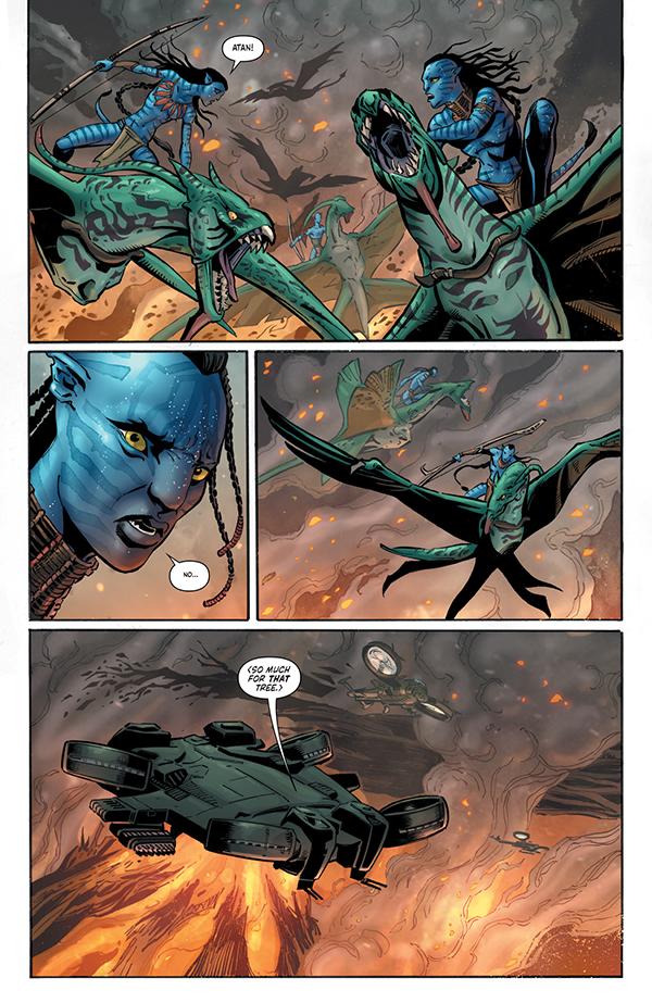 Avatar: Tsu'tey's Path #5 p9