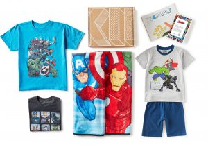 KIDBOX summer rollouts of the Avengers style box